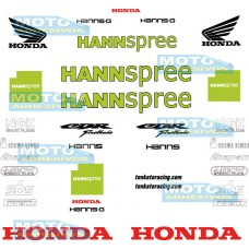 Kit Adhesivos Honda Hannspree